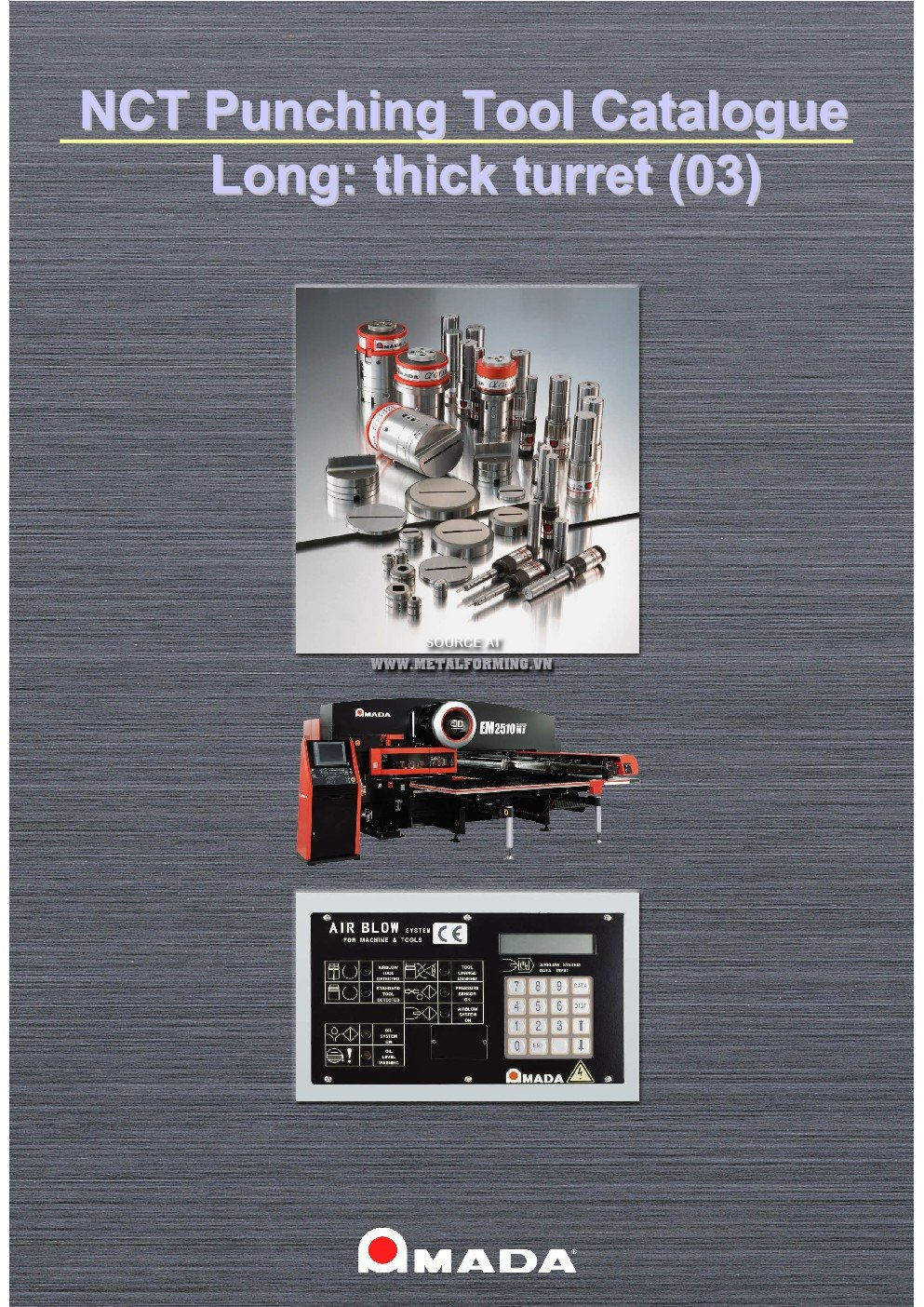 AMADA NCT PUNCHING TOOL CATALOGUE